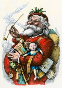 Merry Old Santa Claus, by Thomas Nast, 1881